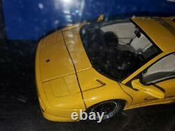 1/18 Autoart 1995 Lamborghini Diablo SV YELLOW Extremely RARE Unicorn DIABLO SV