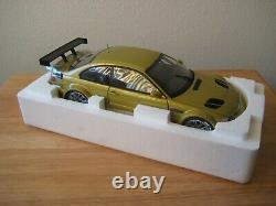 118 BMW M3 GTR E46 Diecast-Street Version Mustard LIMITED ED. EXTREMELY RARE