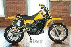 1982 Yamaha YZ