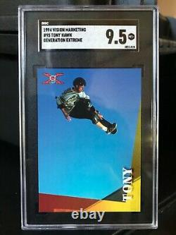 1994 Generation Extreme #95 Tony Hawk SGC 9.5 POP 2 VERY RARE Comp PSA 10