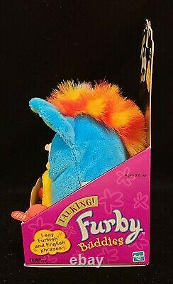 1999 Original Hasbro Tiger Talking Furby Buddies Kid Cuisine Extremely Rare