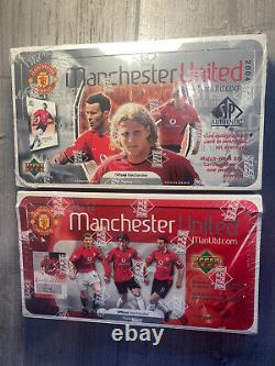 2003/2004 Manchester United Upper Deck/SP Authentic Hobby Boxes EXTREMELY RARE