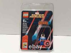 2015 Sdcc Exclusive Lego Captain America Sam Wilson Mini Figure Extremely Rare