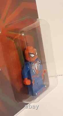 2019 Sdcc Exclusive Lego Ps4 Spiderman Mini Figure Extremely Rare