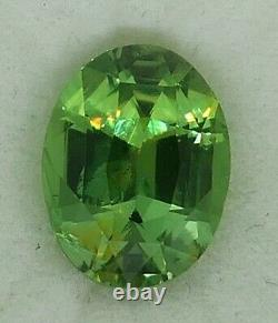 3.22 cts Extremely Rare Pure Mint Green Chrysoberyl With Video
