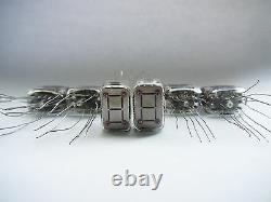 6 pcs ITS1A ITS1-A Thyratron NixieTubes NEW in box NOS EXTREME RARE Real Green