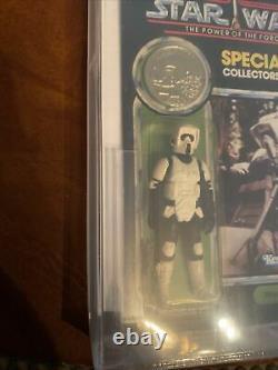 AFA/CAS 85Kenner1985 Star WarsBiker Scout POTF 92-backExtremely Rare