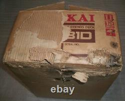 AKAI CR-81D 8 Track Player/Recorder NEW OLD STOCK-Extremely rare! READ Details