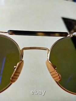 Authentic Thom Browne TB-001-BT 12k Gold designer sunglasses. Extremely Rare