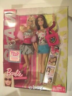 Barbie Fashionistas Swappin' Styles GLAM & SPORTY 2-Pack Giftset Extremely Rare