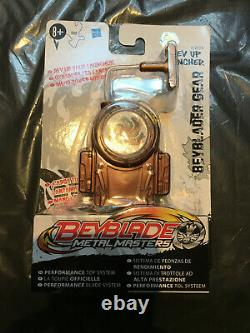 Beyblade HASBRO METAL MASTERS Rev Up Launcher New in Box EXTREME RARE