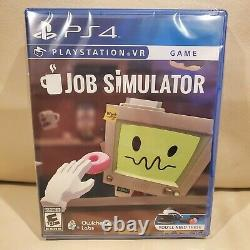 Brand new extremely rare Job Simulator PSVR PS4 factory sealed