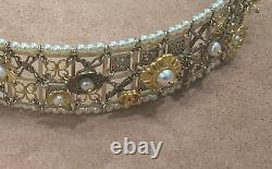 Chanel 19P Limited Edition Extremely Rare Pearly CC Logo Headband