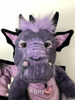Charlie Bear Scorch Dragon New Extremely Rare