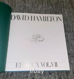 David Hamilton Erotica Volume 7 (EXTREMELY RARE & LIKE NEW)