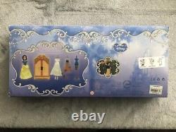 Disney Store 4 Princess WARDROBE Playsets Ariel Aurora Cinderella Snow White