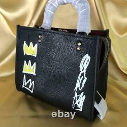 EXTREMELY RARE COACH x Jean-Michel Basquiat 2 way Bag F/S Japan Special Edition