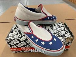 Evel Knievel (Formula One) Vans Slip-On Sneakers Size 11 Extremely Ultra Rare