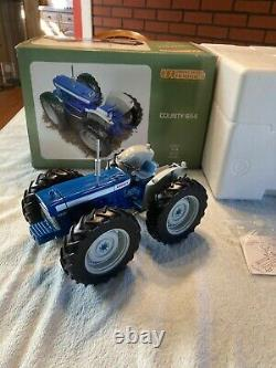 Extremely Rare 1/16 County 654 Tractor Ltd UH2826 Boxed