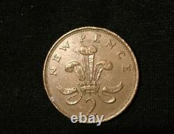Extremely Rare 1981 2p New Pence Coin 1st Production Of New Pence Not Two Pence