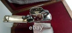 Extremely Rare Camel Zippo Joe Triangle 1997 Sterling Silver In Walnut Box