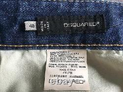 Extremely Rare Dsquared2'tartan' Jean New Size 48 (33)