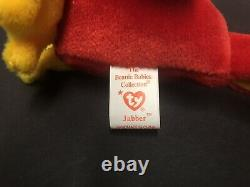Extremely Rare Jabber Beanie Babies with Multiple Errors Stamp