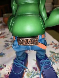 Extremely Rare MF Doom figure 11 Hand Painted Custom Vinyl