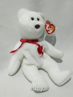 Extremely Rare! MWMT VALENTINO 1993 TY INC Beanie Baby w 2 Swing Tag Errors PVC