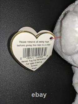 Extremely Rare! VALENTINO 1993 Beanie Baby Babies MISPRINT Swing Tag Errors PVC