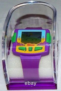 Extremely Rare Vintage Ribena LCD Electronic Handheld Game & Wrist Watch/nos