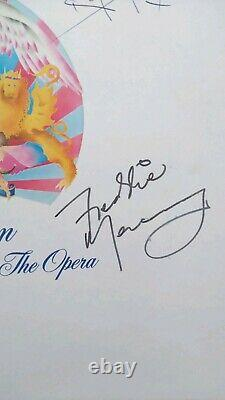 Extremely rare queen signed record