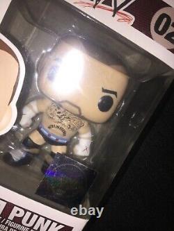 Funko Pop! CM Punk #02 WWE (Extremely Rare)