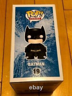 Funko Pop! Extremely Rare Batman Patina 2012 SDCC ComicCon 480 pieces #19