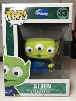 Funko Pop Toy Story Alien #33 Extremely rare In box Slight damage