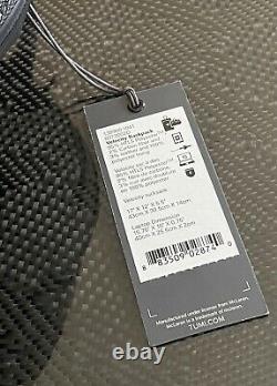 Genuine Tumi Mclaren Velocity Backpack Brand NEW Extremely RARE STYLE 1389601041