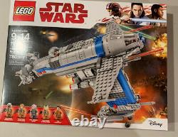 Lego SW Resistance Bomber 75188 With Extremely Rare Finch Dallow Mint