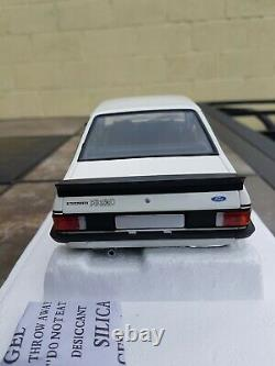 MINICHAMPS EXTREMELY RARE 1/18 Ford ESCORT MK2 RS 2000 MEXICO LIMITED 1004