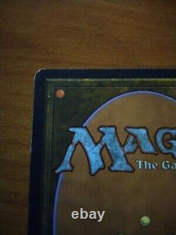 MTG BLACK LOTUS Unlimited EXTREMELY RARE SIGNED Original 1993