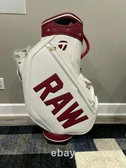 NEW TaylorMade TOUR ISSUE RAW Staff Bag Extremely RARE Find FREE SHIP