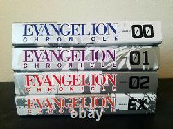 Neon Genesis Evangelion Art collective & Chronology/ History EXTREMELY RARE