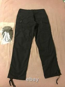 New Extremely Rare 36 L Crye Precision All Weather Black Field Pants + Kneepads