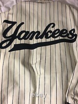 New york yankees leather jacket Size 3x JH Design Extremely Rare Collectible