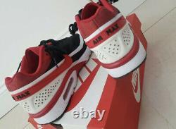Nike Air Max BW Ultra SE Size 9 UK Extremely Rare BLACK UNIVERSITY RED/WHITE