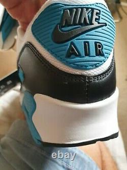 Nike Air max 90 UK 9 (extremely Rare Laser Blue BNIB) 2010