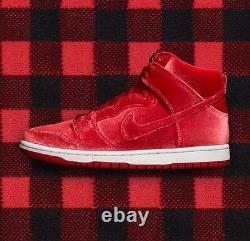 Nike Dunk High Premium SB'Red Velvet' UK 5 EUR 38 EXTREMELY RARE! LAST ONE