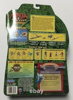 Ninja Turtles The Next Mutation DONATELLO Red Weapons NIP - Extremely RARE
