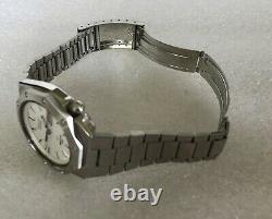 Nos! Extreme Rare Vtg Seiko Polar Royal Oak Watch Mint Nib Full Kit