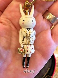 Nwot Juicy Couture Fifi Lapin Bunny 2012 Ltd Ed Pendant Charm. Extremely Rare