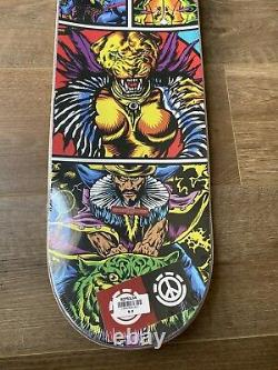 Nyjah Huston FINAL Element Sakmet Skateboard Disorder EXTREMELY RARE! 8.0 Deck